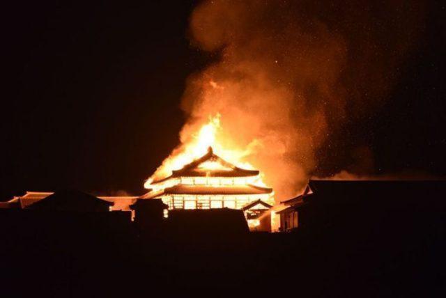 沖縄首里城火災の原因は自然発火?いたずら?ツイッターの反応