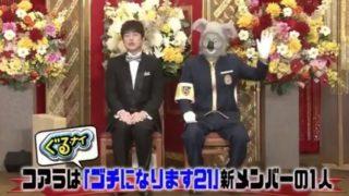 ゴチ新メンバー2020は増田貴久(まっすー)とツイッターで話題!コアラ男の正体予想考察