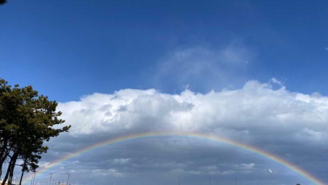 3月11日「被災地に虹がかかる」ネットの反応や画像を紹介!